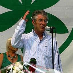 Il Ministro per le Riforme, Umberto Bossi