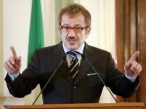 Il ministro degli interni, Roberto Maroni