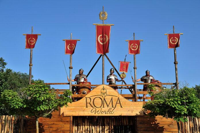 L'ingresso di Roma World