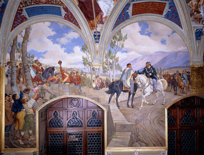 Vittorio Emanuele II e Giuseppe Garibaldi