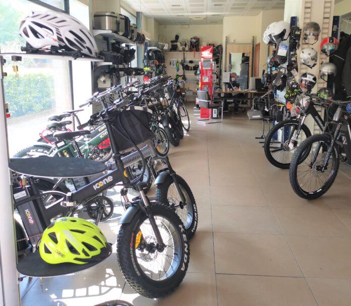Il punto vendita Gallo Moto a Frosinone