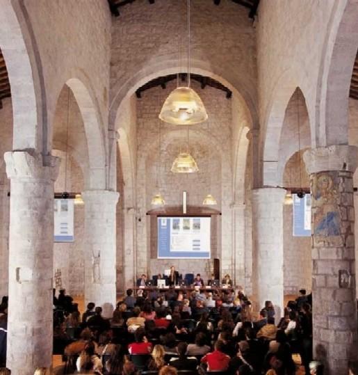 L'aula magna dell'Università della Tuscia (foto dal sito unitus.it)